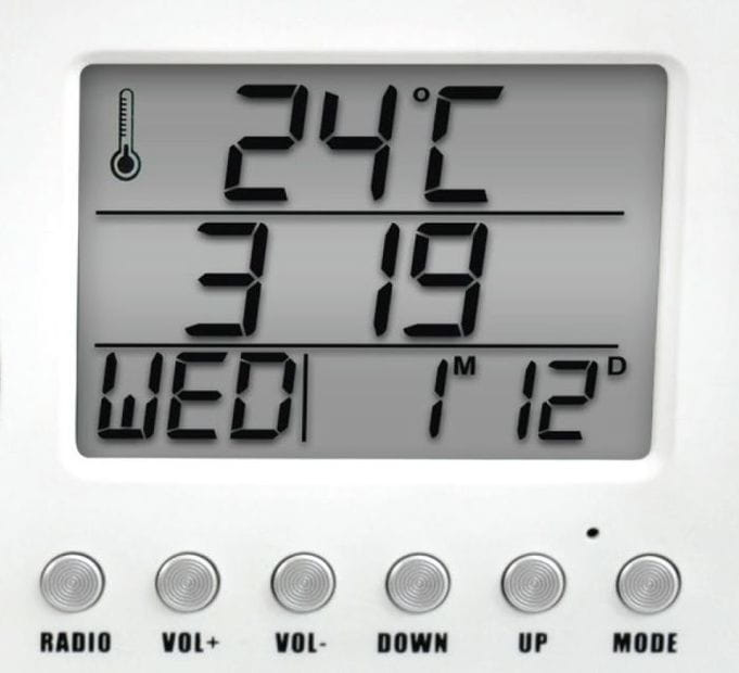Datownik termometr